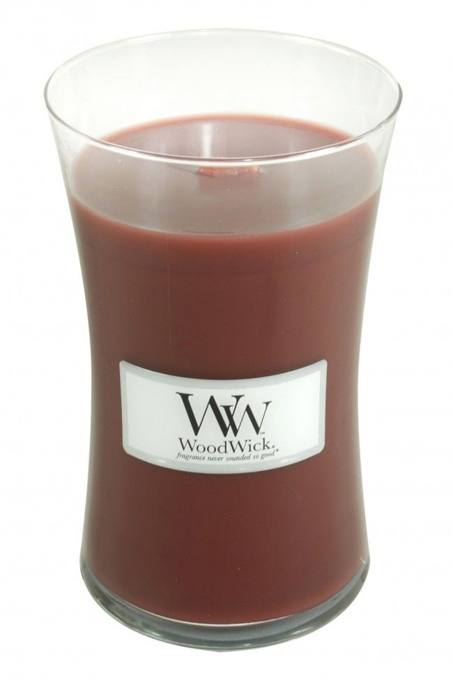 Woodwick Large Candle Redwood