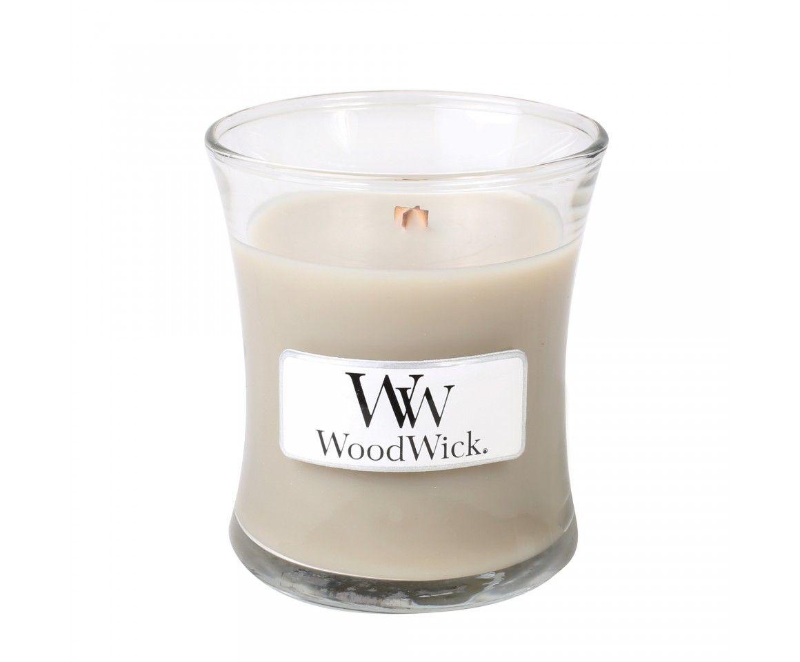 Woodwick Mini Candle Wood Smoke