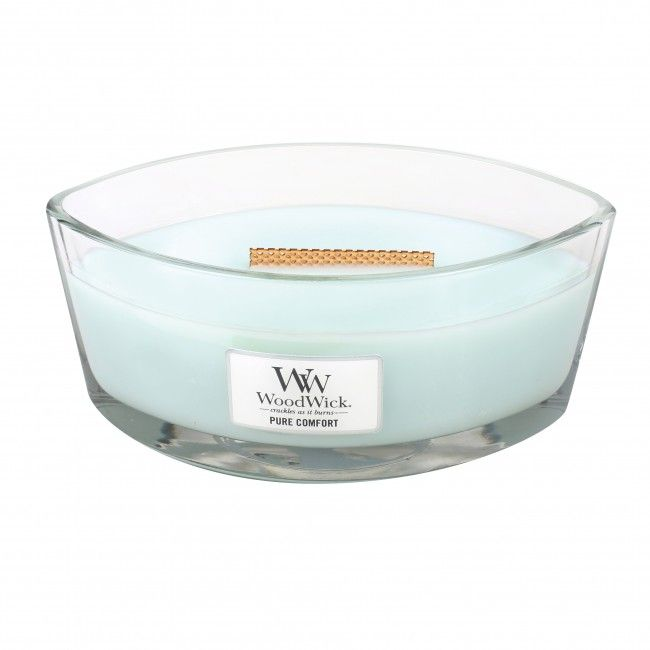 Woodwick HearthWick Flame Ellips Pure Comfort