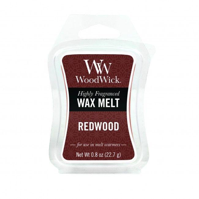 Woodwick Mini Wax Melt Redwood