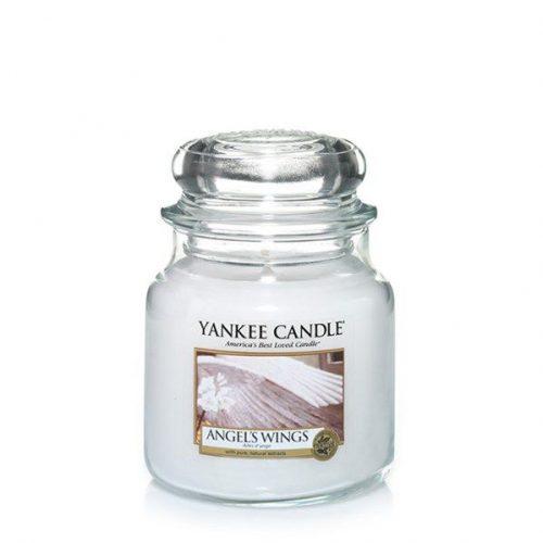 yankee candle angel's wings medium jar geurkaars