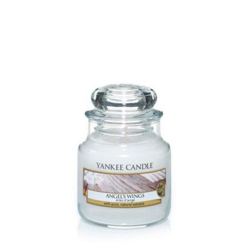 yankee candle angel's wings small jar geurkaars
