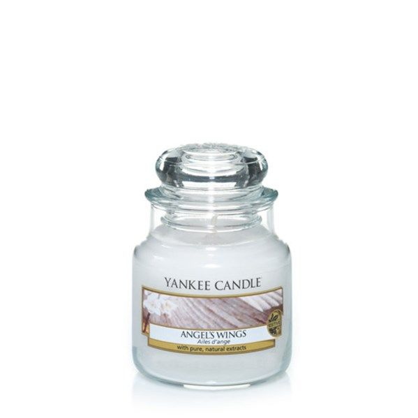 yankee candle angel's wings small jar geurkaars