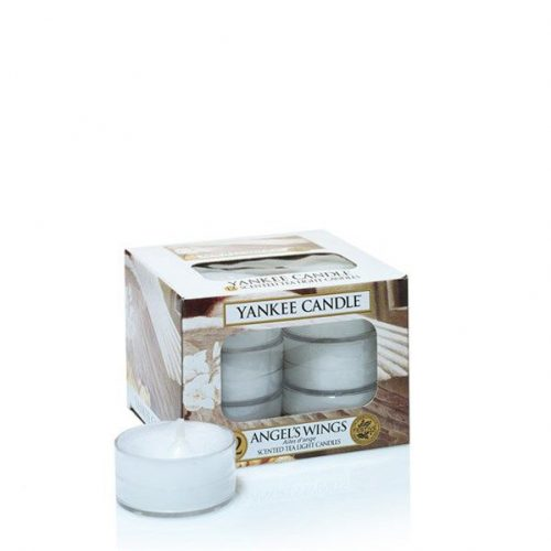 yankee candle angel's wings tea lights geurkaarsen