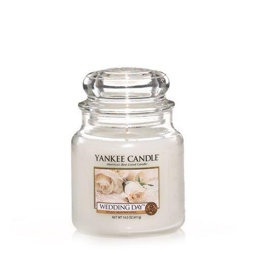 yankee candle wedding day medium jar geurkaars