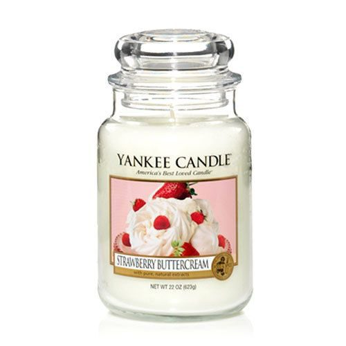 Yankee Candle Strawberry Buttercream Large Jar