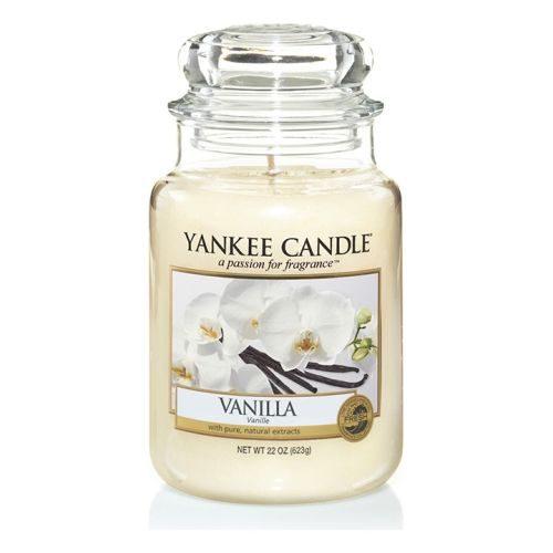 Yankee Candle Vanilla Large Jar Geurkaars