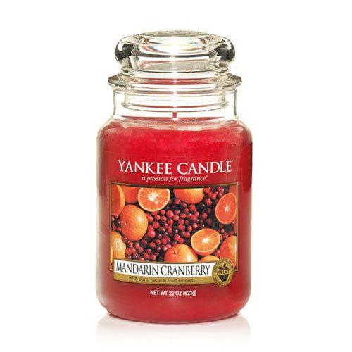 Yankee Candle Mandarin Cranberry Large Jar