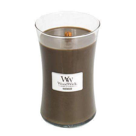 Woodwick Large Candle Oudwood