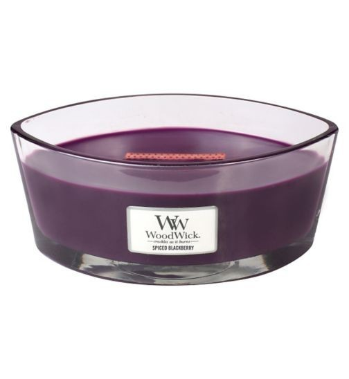 Woodwick HearthWick Flame Spiced Blackberry