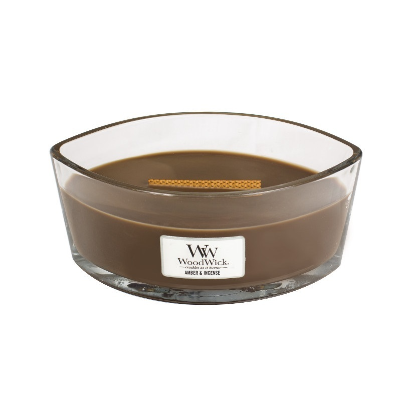 Woodwick HearthWick Amber & Incense