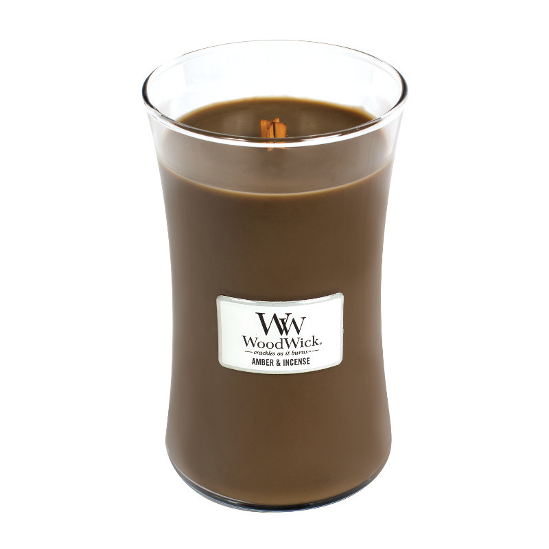 Woodwick Large Candle Amber & Incense