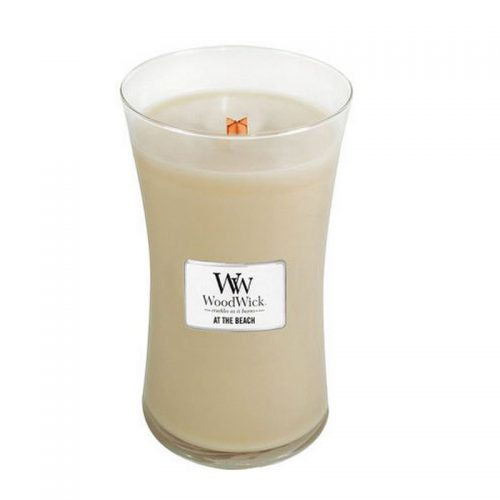 Woodwick At The Beach Large Candle Geurkaars