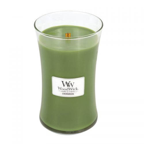 Woodwick Evergreen Large Candle Geurkaars
