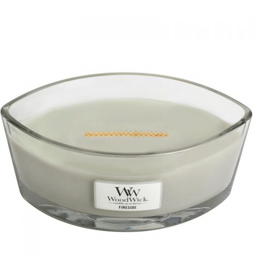 Woodwick Fireside Heartwick Flame Ellipse Geurkaars