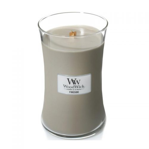 Woodwick Fireside Large Candle Geurkaars