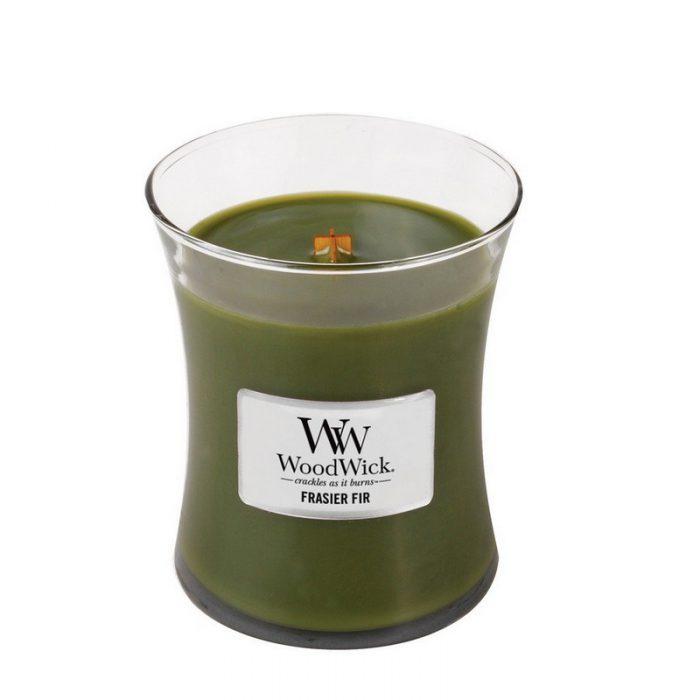 Woodwick Frasier Fir Medium Candle