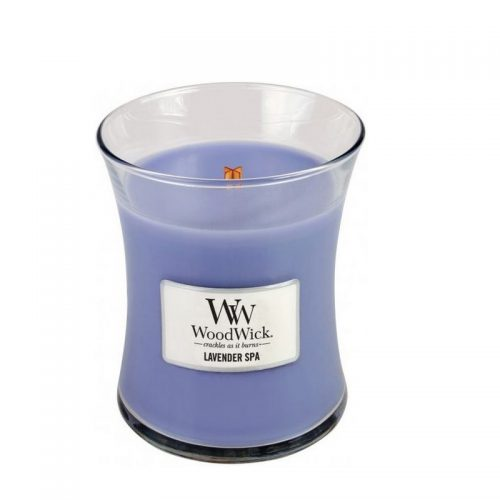 Woodwick Lavender Spa Medium Candle