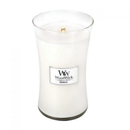Woodwick Magnolia Large Candle Geurkaars