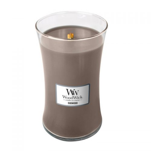 Woodwick Oudwood Large Candle Geurkaars