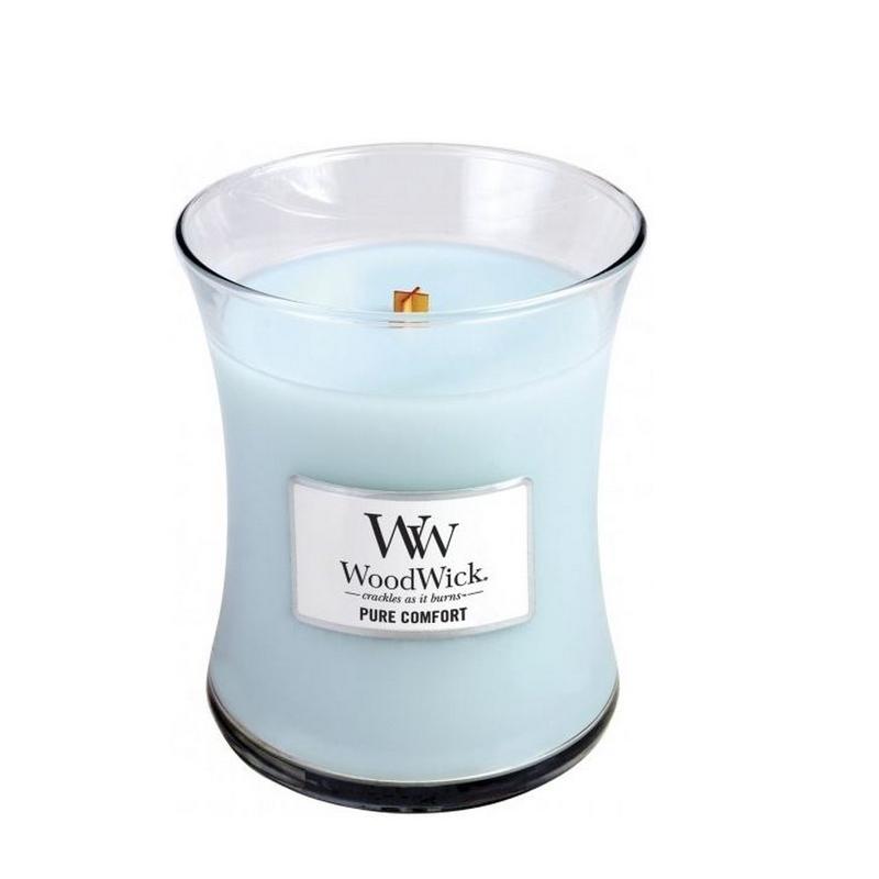 Woodwick Medium Candle Pure Comfort