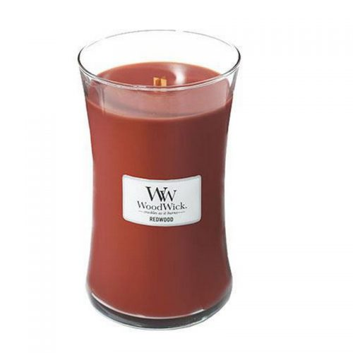 Woodwick Redwood Large Candle Geurkaars