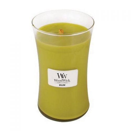 Woodwick Willow Large Candle Geurkaars