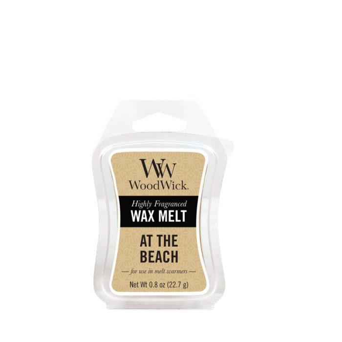 Woodwick At The Beach Mini Wax Melt