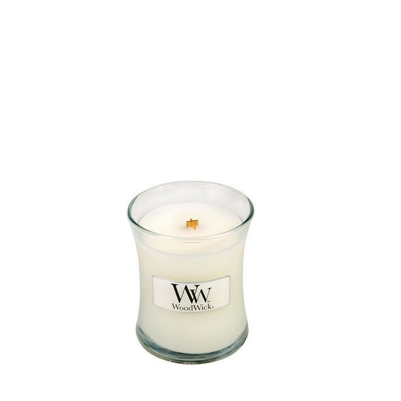 WoodWick Baby Powder Mini Candle