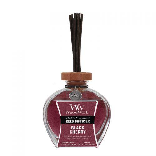 Woodwick black cherry geurstokjes