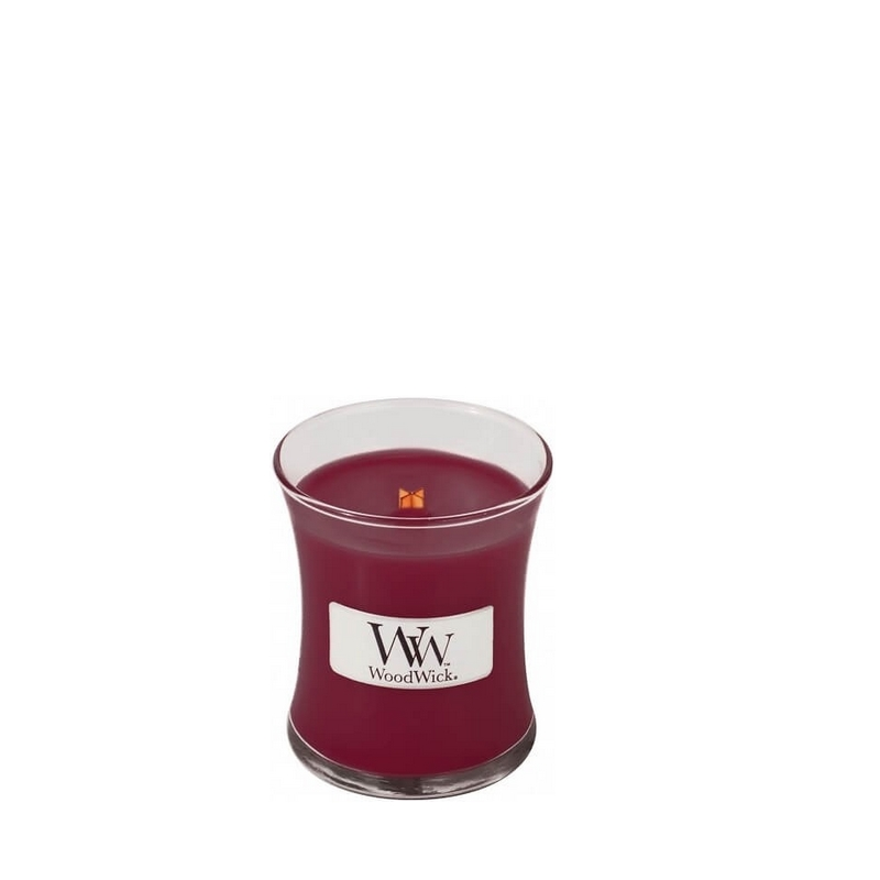 Woodwick Black Cherry Mini Candle