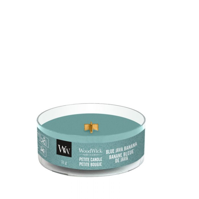 WoodWick Blue Java Banana Petite Candle