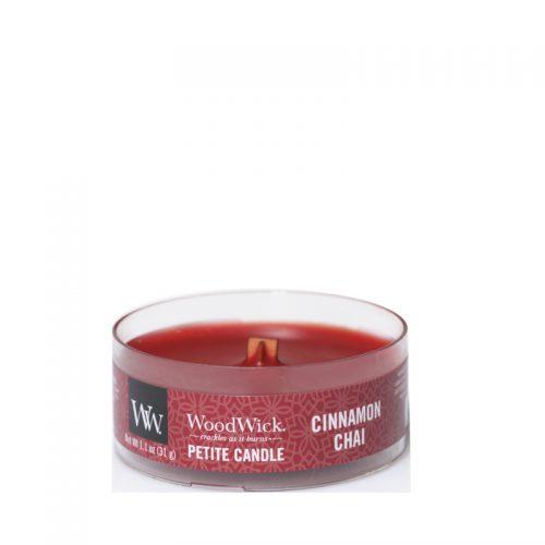 Woodwick Cinnamon Chai Petite Candle