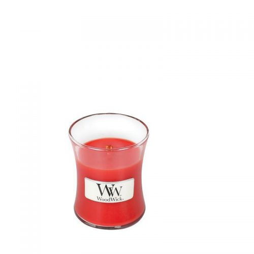 Woodwick Crimson Berries Mini Candle