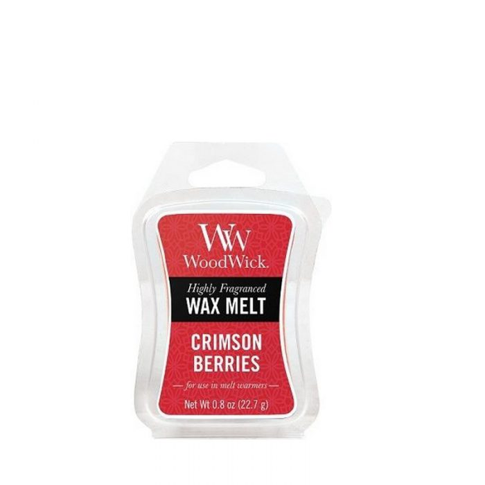 Woodwick Crimson Berries Mini Wax Melt
