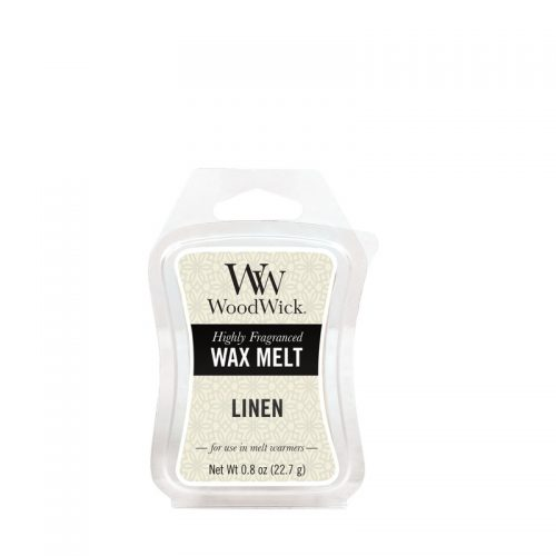 Woodwick Linen Mini Wax Melt