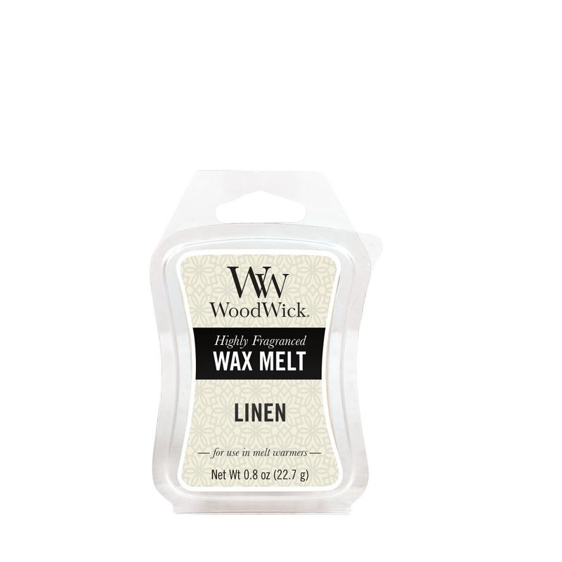 Woodwick Linen Mini Wax Melt