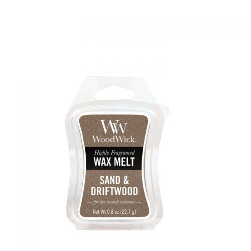Woodwick Sand Driftwood Mini Wax Melt