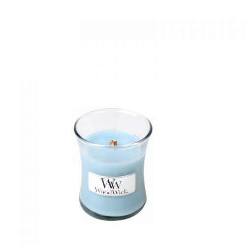 Woodwick Sea Salt and Cotton Mini Candle