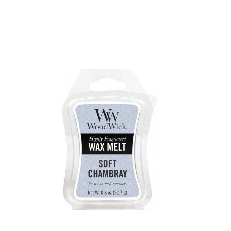 Woodwick Soft Chambray Mini Wax Melt