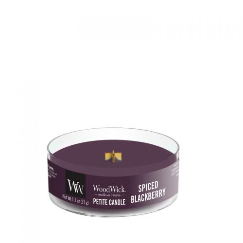 WoodWick Spiced Blackberry Petite Candle