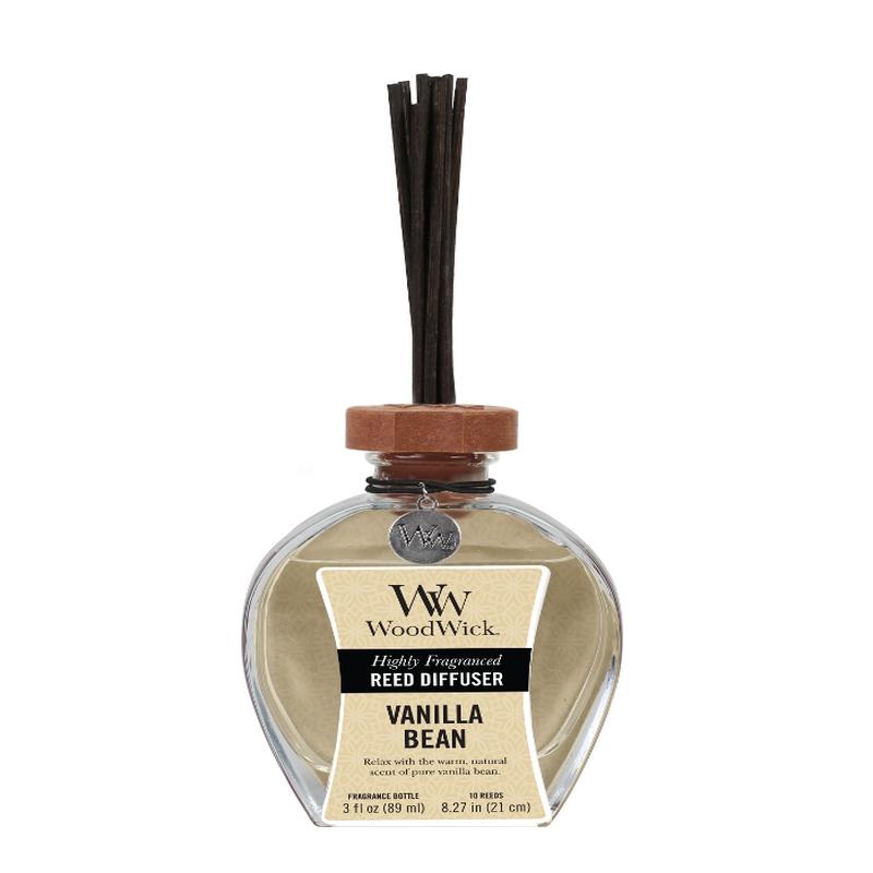 woodwick vanilla bean geurstokjes