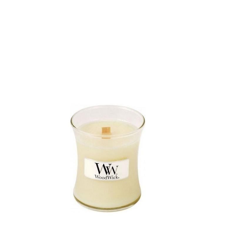 Woodwick Vanilla Bean Mini Candle