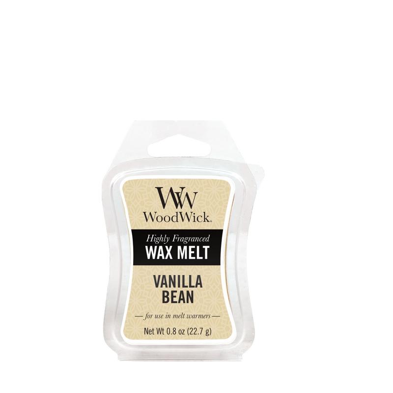 Woodwick Vanilla Bean Mini Wax Melt