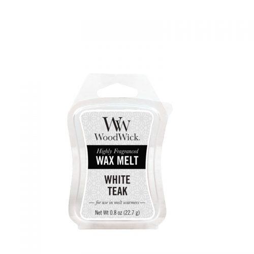 Woodwick White Teak Mini Wax Melt