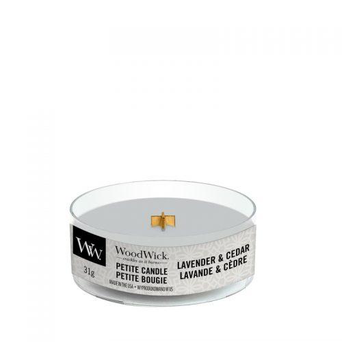 WoodWick Lavender & Cedar Petite Candle