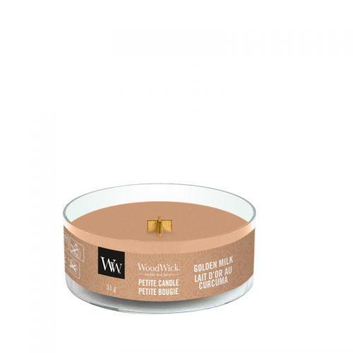 WoodWick Golden Milk Petite Candle
