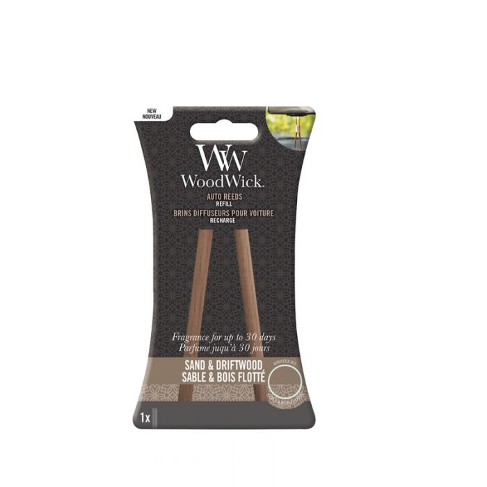 Woodwick Sand & Driftwood Auto Reed Refill