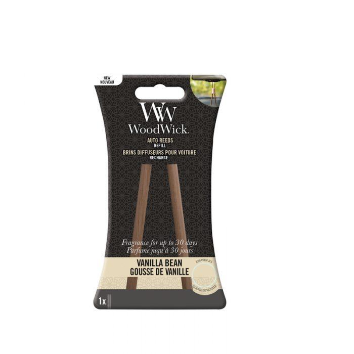 Woodwick Vanilla Bean Auto Reed Refill