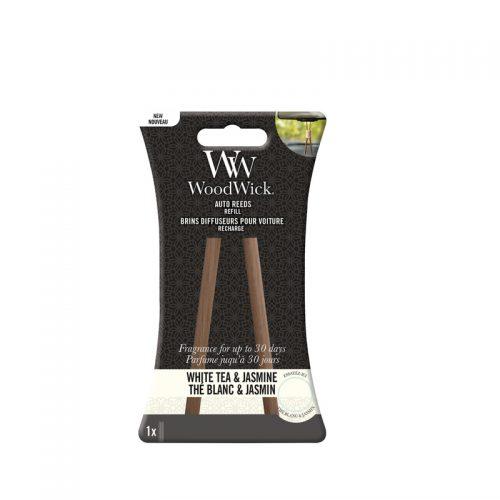Woodwick White Tea & Jasmine Auto Reed Refill